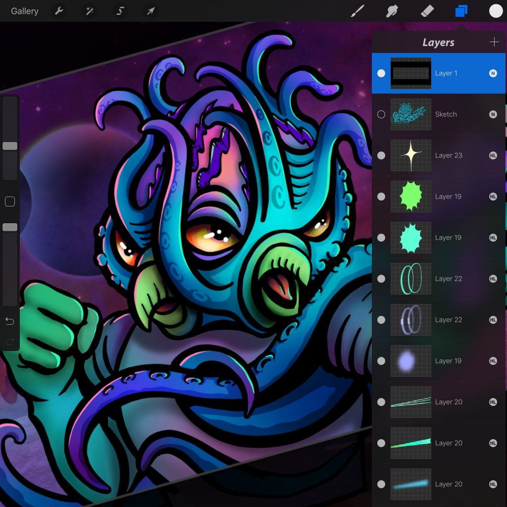 Procreate Tips to avoid pain – Melissa Cabral